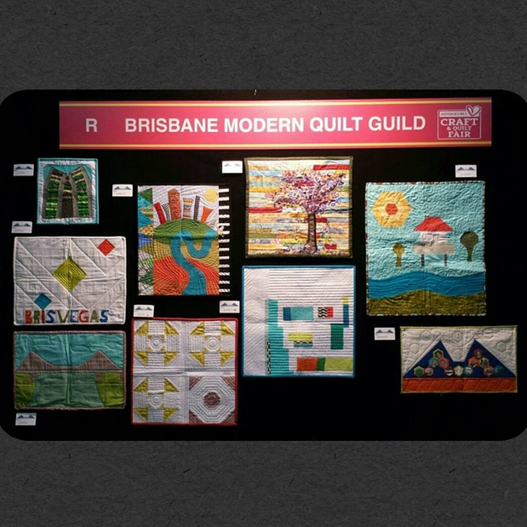 We are at the Brisbane Craft and Quilt Show   Brisbane Modern ... : quilt show brisbane - Adamdwight.com
