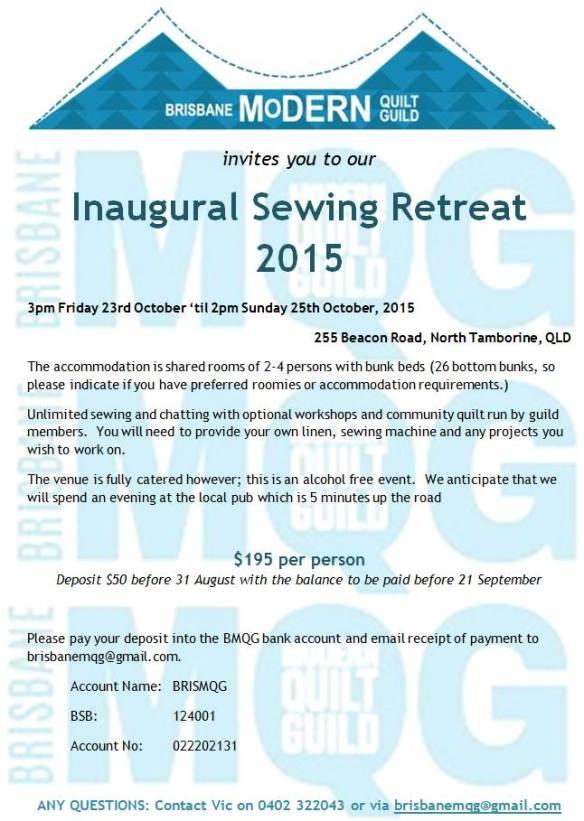 BrisMQG 2015 retreat