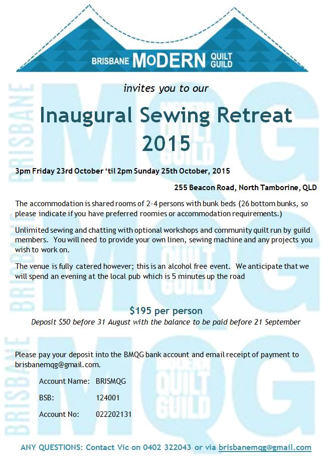 BrisMQG 2015 retreat