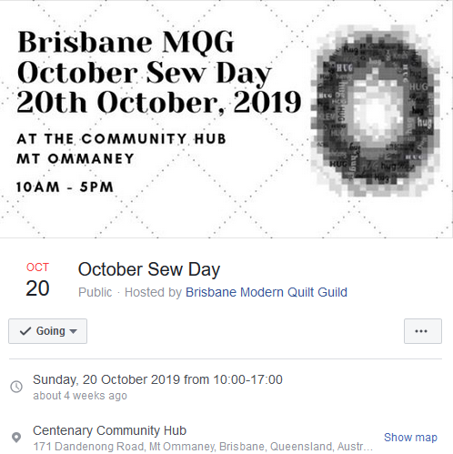 October SewDay Event